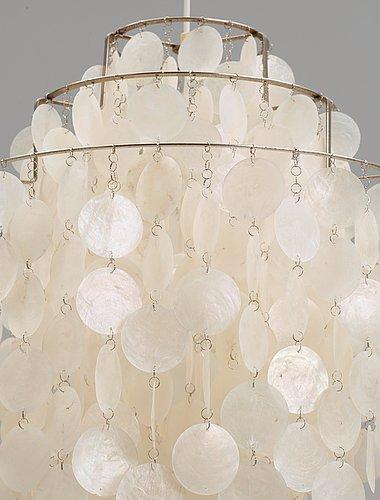 A verner panton 'fun lamp', lüber, 1960's.