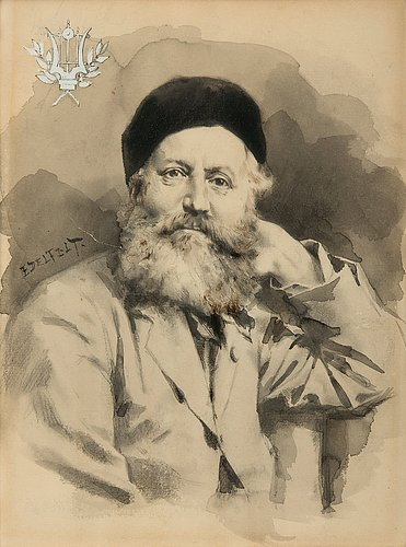 Albert edelfelt, charles gounod.