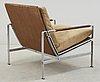 A preben fabricius & jørgen kastholm easy chair, kill international, germany 1960's.