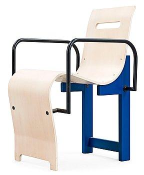 "A John Kandell armchair, ""Kontrast"" Källemo, Sweden."