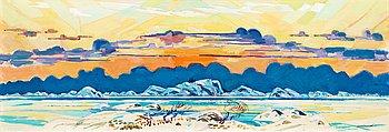 """98. ROLAND SVENSSON, """"Version till 'Vinterväggen' """" (Version of """"Vinterväggen"""")."""