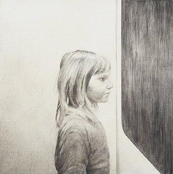 """403. Anna Finney, """"Flickan vid fönstret"""" (Girl by the window)."""