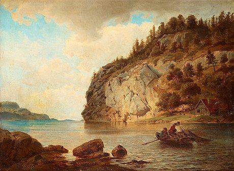 Hans fredrik gude, by the coast.
