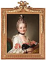 PER KRAFFT D.Ä., Portrait of a young lady w...