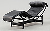 A le corbusier, pierre jeanneret & charlotte perriand 'lc 4' lounge chair, cassina, italy.
