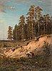 Ivan ivanovitch shishkin, near the forest.