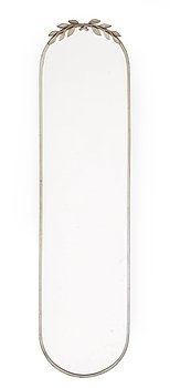 312. An Estrid Ericsom pewter wall mirror, Svenskt Tenn, Stockholm 1931.
