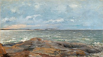 7. Woldemar Toppelius, SHIPS IN THE HORIZON.
