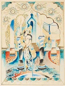 5. Gösta Adrian-Nilsson, From The Arabian Nights.