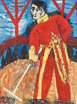 """15. Olle Olsson-Hagalund, """"Cirkusvaktmästare I"""" (Caretaker at the circus I)."""