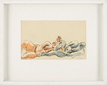 206. Le Corbusier, Two figures.
