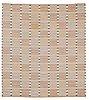 "Carpet. ""falurutan grå"". flat weave (rölakan). 261 x 233 cm. signed ab mmf bn."