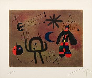 "381. Joan Miró After, ""L'OISEAU FUSE""."