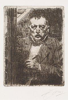 "108. Anders Zorn, ""Selfportrait 1911""."