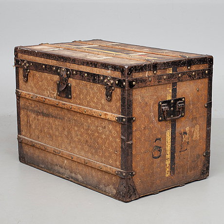 Glimrende KOFFERT, Louis Vuitton, sent 1800-tal. - Bukowskis YB-07
