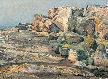 11. Berndt Lindholm, KUSTLANDSKAP.