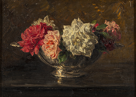 Jan zoetelief tromp, oil on canvas, signed.