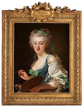 "214. ALEXANDER ROSLIN, ""Anne Vallayer-Coster"" (1744-1818)."