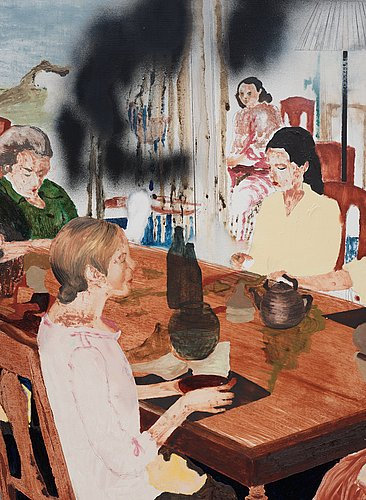 """Karin mamma andersson, """"travelling in the family""""."""