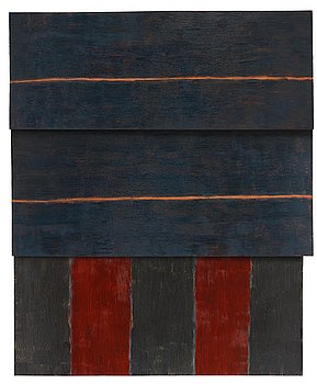 """429. Sean Scully, """"Standing""""."""