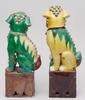 Tempelhundar, 2 st. porslin. kina.