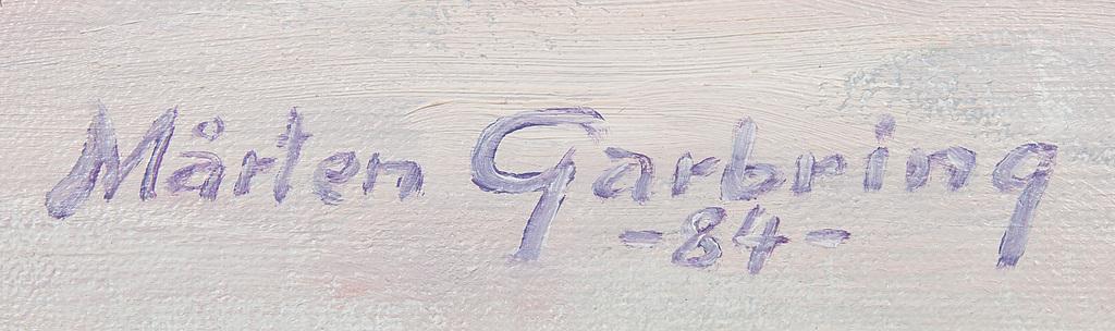 MÅRTEN GARBRING, olja på duk, signerad och daterad -84.