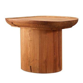 "469. Axel Einar Hjorth, an ""Utö"" stained pine table, NK, Nordiska Kompaniet, Sweden 1930's."