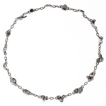 202. Bertel Gardberg, A NECKLACE, 916 silver, BRG, Helsinki 1954.