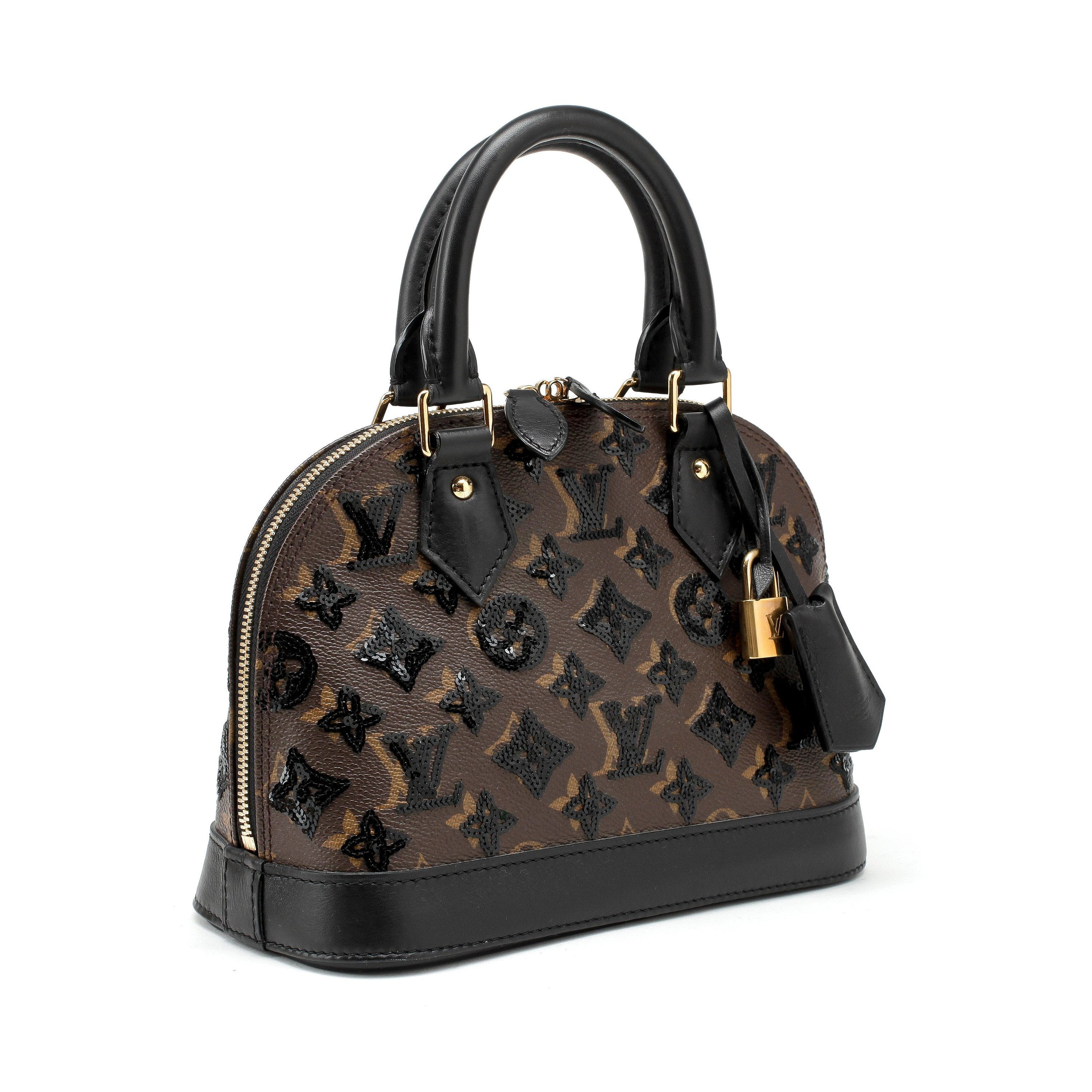 Louis Vuitton A Monogram Canvas Bag Alma Bb Monograme Ellipse Noir Limited Edition 2011 Bukowskis