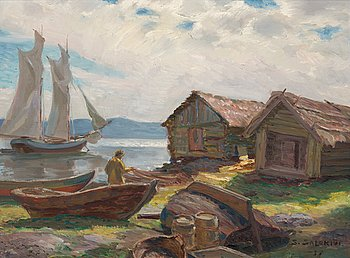 8. Santeri Salokivi, FISHING HUTS.