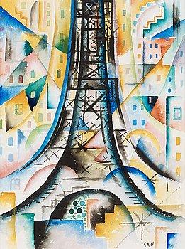 111. Gösta Adrian-Nilsson, The Eiffel Tower.