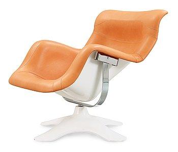 12. An Yrjö Kukkapuro 'Karuselli' easy chair, Avarte, Finland.