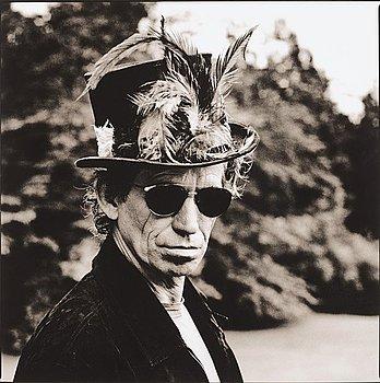 "309. Anton Corbijn, ""Keith Richards, Toronto, 1994""."