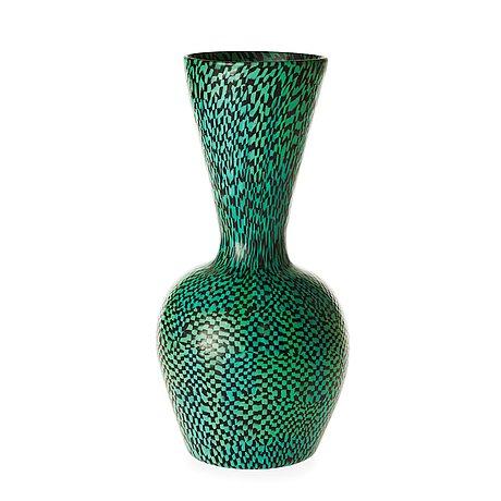 A Paolo Venini Murrine Glass Vase Venini Murano Italy 1950s