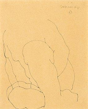 207. Eduardo Chillida, Composition with figure.