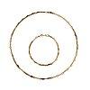 A wiwen nilsson 18k gold necklace, lund 1976.