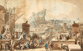 """309. Ingemar Sunesson, """"Staden Alexandrias grundläggning""""."""