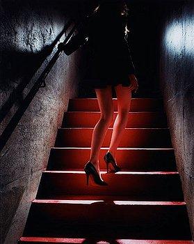 "348. David Drebin, ""Girl on the Red Steps"", 2012."