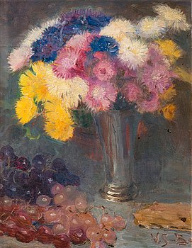 7. Venny Soldan-Brofeldt, STILL LIFE WITH FLOWERS.