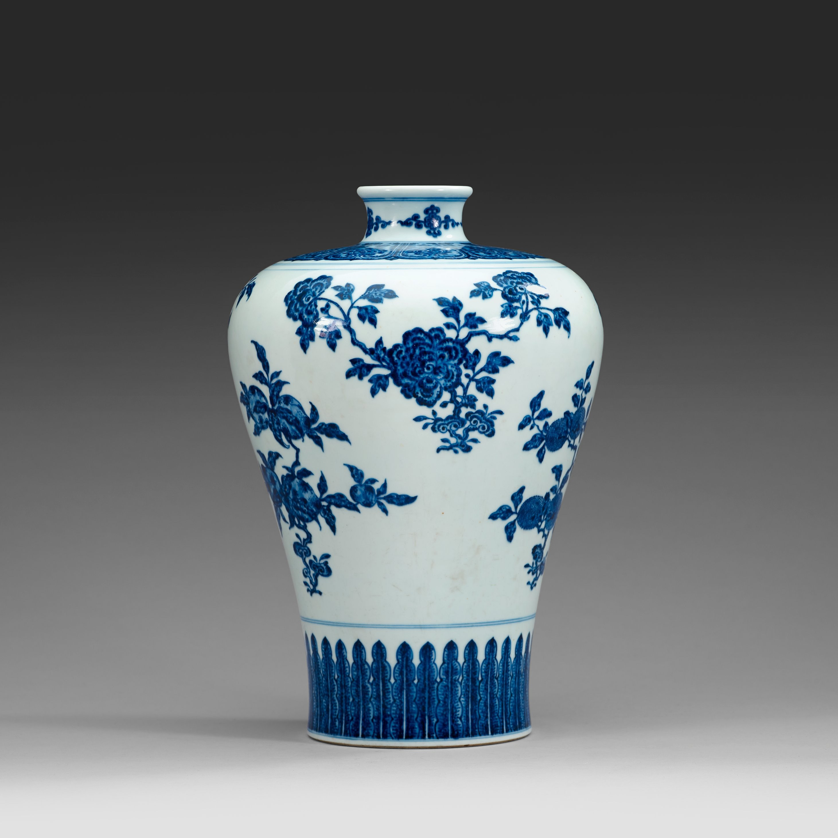 A well painted ming style blue and white meiping vase qing 8853273 bukobject reviewsmspy
