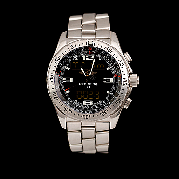 Breitling - B1. Steel. Quartz. Ø 42mm. 2002.