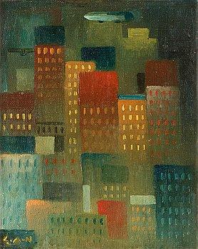 "6. Gösta Adrian-Nilsson, ""Skyskrapor"" (Skyscrapers)."