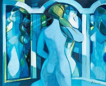 """209. Camille Hilaire, """"Miroir a trois face""""."""