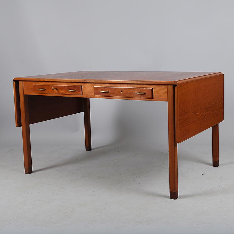 Skrivbord Med LÖs Hurts, David Rosén För Nk, 1950 Tal Bukowskis Market