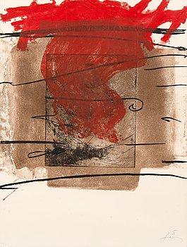 """384. Antoni Tàpies, """"FOC""""."""