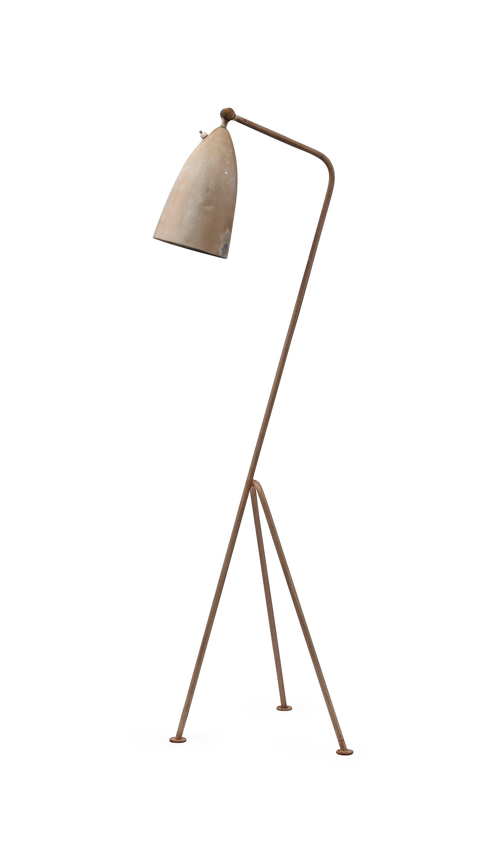 GRETA MAGNUSSON GROSSMAN, golvlampa, Bergboms, Malmö 1950 tal, modell G 33 Bukowskis