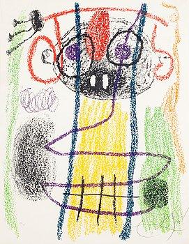 "386. Joan Miró, FROM ""ALBUM 21"" 1978."