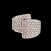 A brilliant-cut diamond ring. total gem weight 2.48 cts.