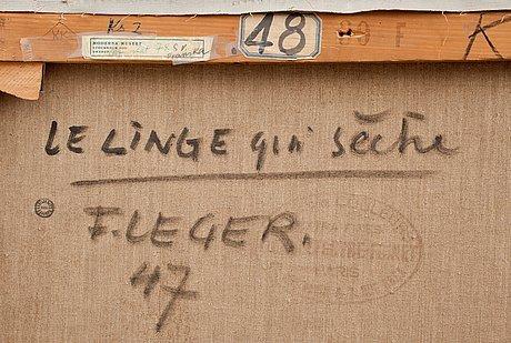 """Fernand léger, """"le linge qui sèche""""."""