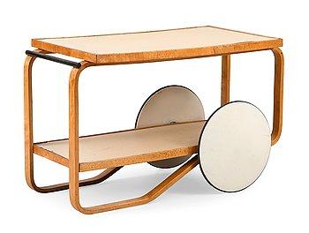 11. Alvar Aalto, TEA TROLLEY 98.